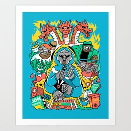 MF DOOM & Friends Art Print