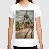 victorian T-shirts featuring Victorian Mine by Adrian Evans