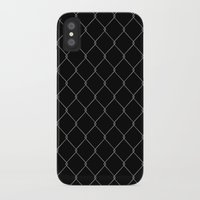the wire iPhone & iPod Cases featuring Wire Fence by Crazy Thoom