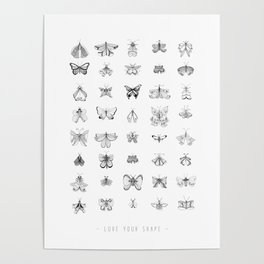 Love your shape Poster