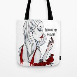 Blood Of My Enemies Tote Bag