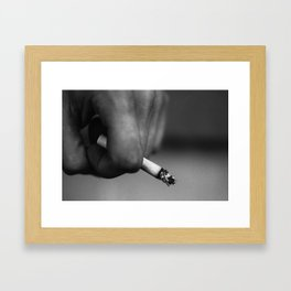 Smokin Kills Framed Art Print