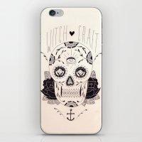 dia de los muertos iPhone & iPod Skins featuring Dia de los muertos by Thrashin