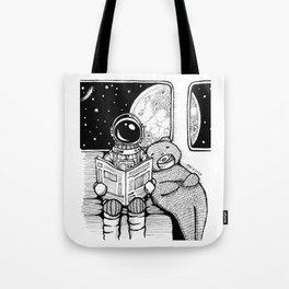 Back to home. Tote Bag