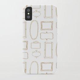 Frames iPhone Case