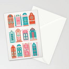 Moroccan Doors – Watermelon Palette Stationery Cards