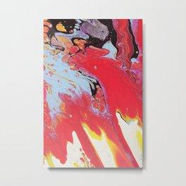 space splash Metal Print