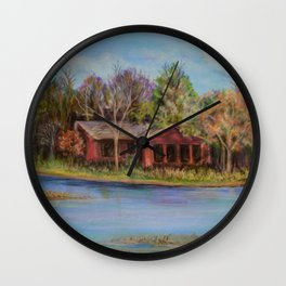 Pioneers Park Nature Center Wall Clock