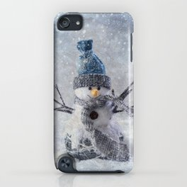 Cute snowman frozen freeze iPhone Case