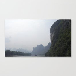 China Stories #10: Li River Canvas Print