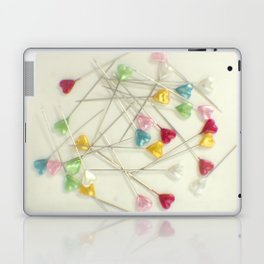 I heart pins Laptop & iPad Skin
