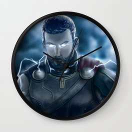 God of Thunder Wall Clock