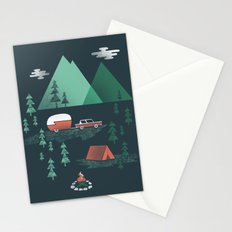 Pitch a Tent Stationery Cards