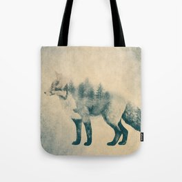 Fox and Forest - Shrinking Forest Tote Bag