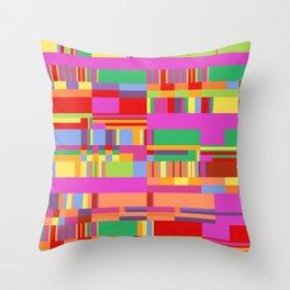 Debussy Little Shepherd (Jelly Bean Colours) Throw Pillow