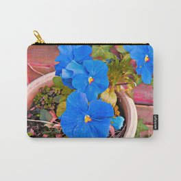 Little Blue Eyes. Carry-All Pouch