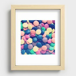 candy Recessed Framed Print