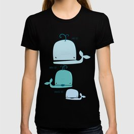 whale family T-shirt