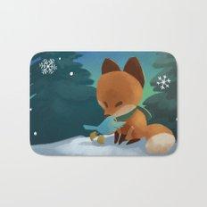Fox & Boots - Winter Hug Bath Mat