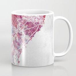 Barcelona map Coffee Mug
