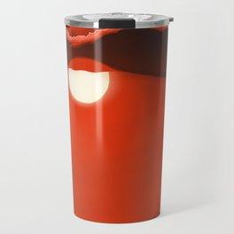 Blazing Red Sunset Travel Mug