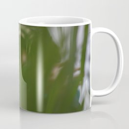 [4] Dancing people, dance, shadows, hands and plants, blurred photography, artistic, forest, yoga Coffee Mug