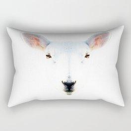 The White Sheep By Sharon Cummings Rectangular Pillow
