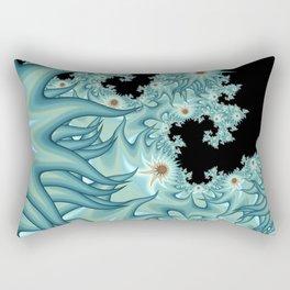 Sea Anemone Fractal Rectangular Pillow