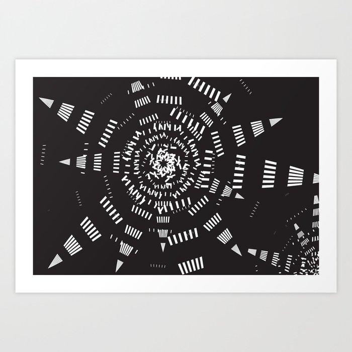 Galaxy geometric Kunstdrucke