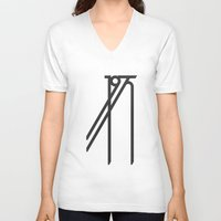 1975 V-neck T-shirts featuring 1975 Tribute by Quimeia