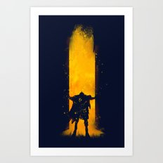 Open the Door Art Print