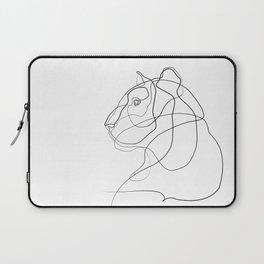 Tiger Line Art Laptop Sleeve