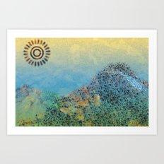Mountain Series - Daylight Art Print