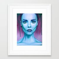 cara Framed Art Prints featuring Cara by Stella Joy