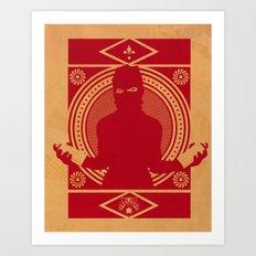 RED VANDALIZM Art Print