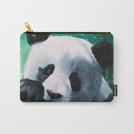 Panda - A little peckish - by LiliFlore Carry-All Pouch