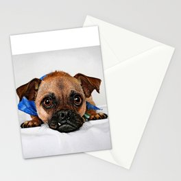 Lonely Misfit wanting a home Stationery Cards
