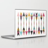 bohemian Laptop & iPad Skins featuring Bohemian Arrows by Bohemian Gypsy Jane