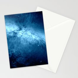 Classic Blue Galaxy Messier M82 Stationery Cards