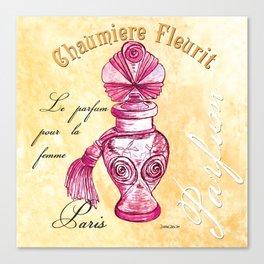 Pink Perfume Spa 2 Canvas Print