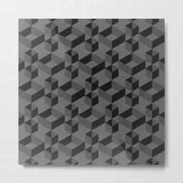 Black box Metal Print