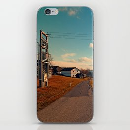 Scenic view at indian summer | landscape photography iPhone Skin