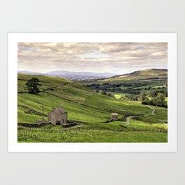 Stainmore Vista Art Print