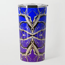 Purple Tree of Endless Haze Travel Mug