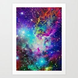 Fox Nebula Art Print