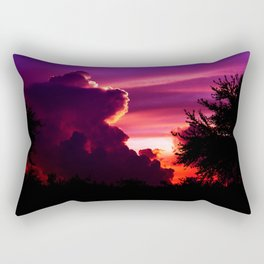 Blazing Sunset Rectangular Pillow