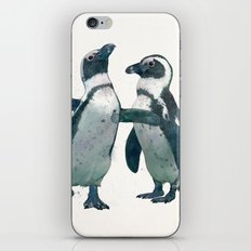penguin party iPhone & iPod Skin