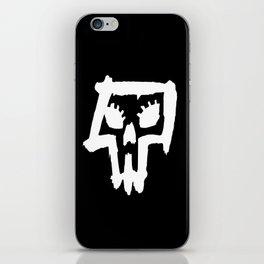 Sexy Skull - White iPhone Skin