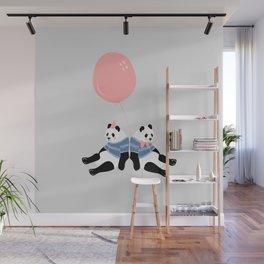 Happy Birthday Panda Wall Mural