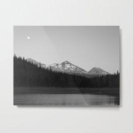 Hand Lake Metal Print